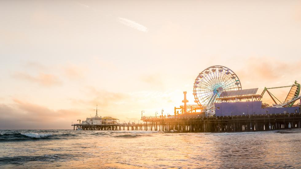Santa Monica Il Pier